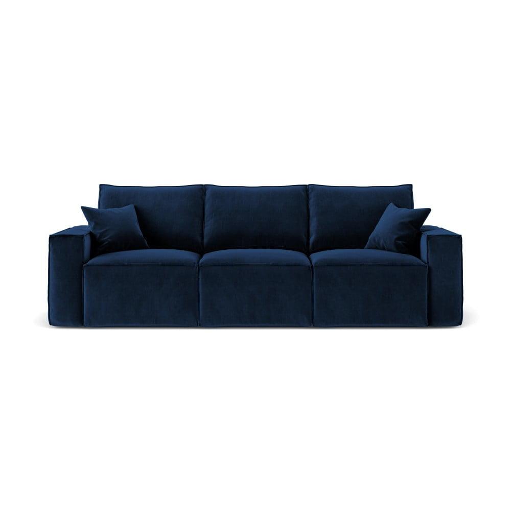 Produktové foto Tmavě modrá třímístná pohovka Cosmopolitan Design Florida