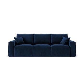 Canapea cu 3 locuri Cosmopolitan Design Florida, albastru închis