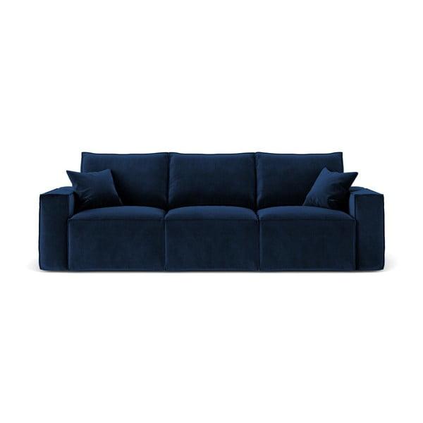 Tmavě modrá třímístná pohovka Cosmopolitan Design Florida