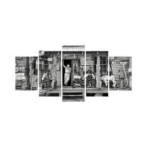 Vícedílný obraz Black&White no. 82, 100x50 cm