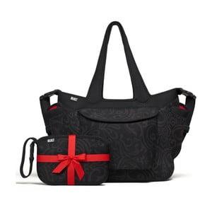 Set taška na pleny a velká taška Night Damask