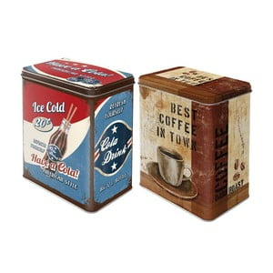 Sada 2 dóz Coke and Coffee