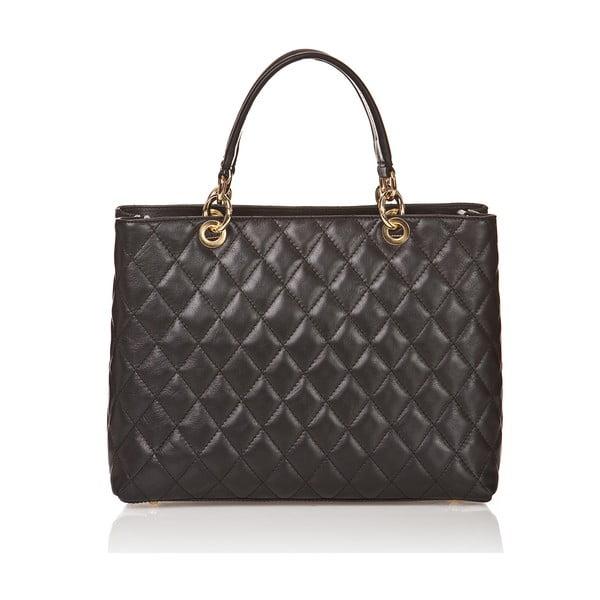 Kožená kabelka Ema, černá