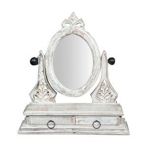 Stolní zrcadlo se 2 zásuvkami Crido Consluting Caroline