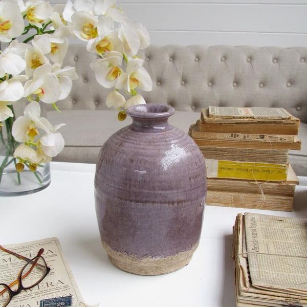 Váza Mattia Purple, 15x23 cm