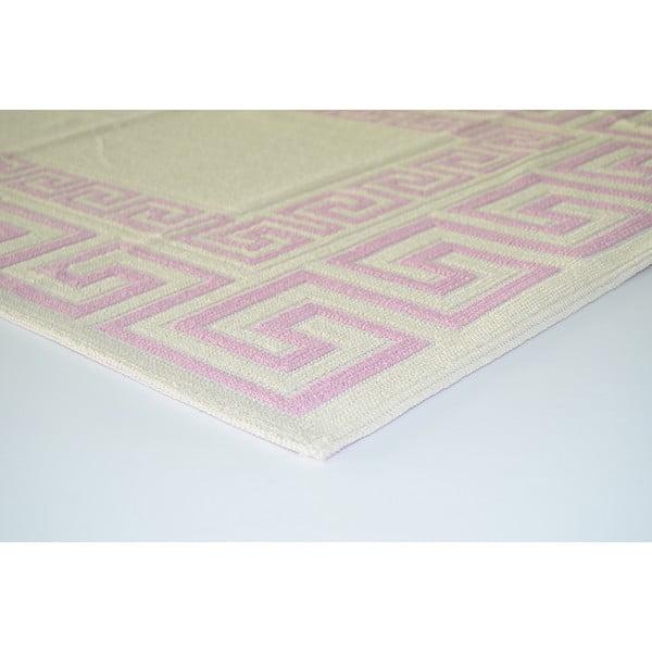 Starorůžový odolný koberec Vitaus Versace, 120x180cm