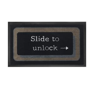 Rohožka Slide to unlock, 45x75 cm