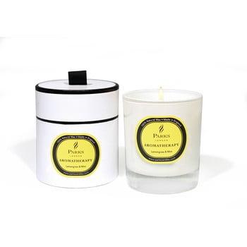 Lumânare parfumată cu aromă de lămâiță și mentă Parks Candles London Aromatherapy, durată ardere 45 ore imagine