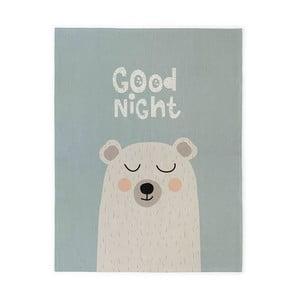 Dětský bavlněný ručně vyrobený koberec Naf Naf Good Night, 160 x 120 cm