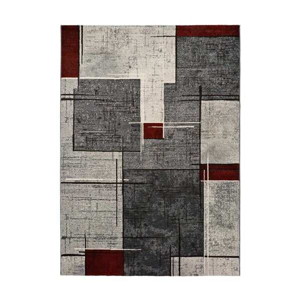Ciudad sötétszürke szőnyeg, 140 x 200 cm - Universal