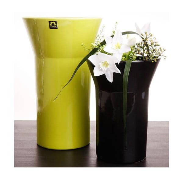 Váza Conie 25 cm, zelená