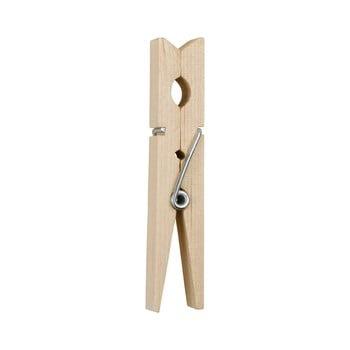 Set 36 cârlige din lemn pentru rufe Addis Wooden Pegs Pack imagine