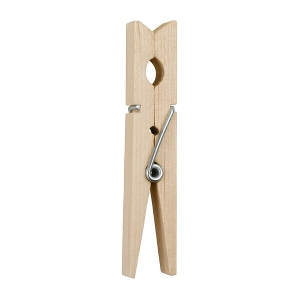 Zestaw 36 drewnianych klamerek Addis Wooden Pegs Pack