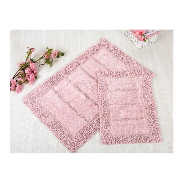 Sada 2 růžových předložek Irya Home Vesta
