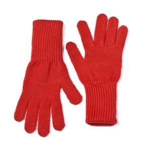 Červené rukavice Lavaii Elle
