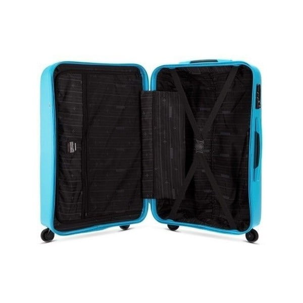Kufr Travel PP 24', modrý