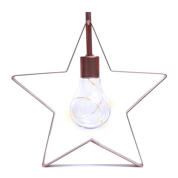 Veioză decorativă cu LED în formă de stea DecoKing Star