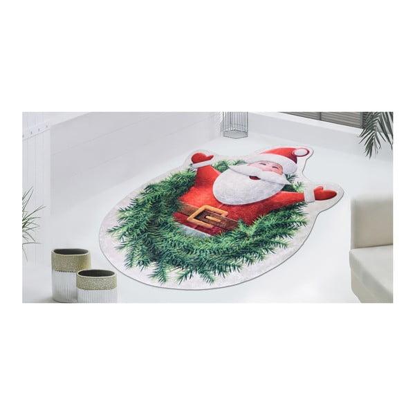 Koberec Vitaus Happy Santa, 80 x 120 cm