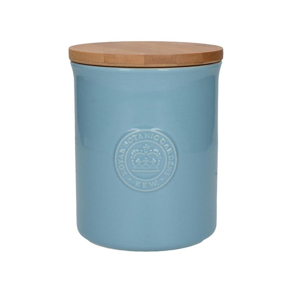 Modrá keramická dóza s víkem Creative Tops Richmond