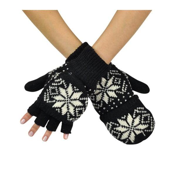 Černé rukavice Lisa