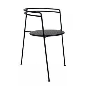 Černá židle OK Design Point