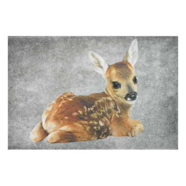 Předložka Grey Bambi 75x50 cm