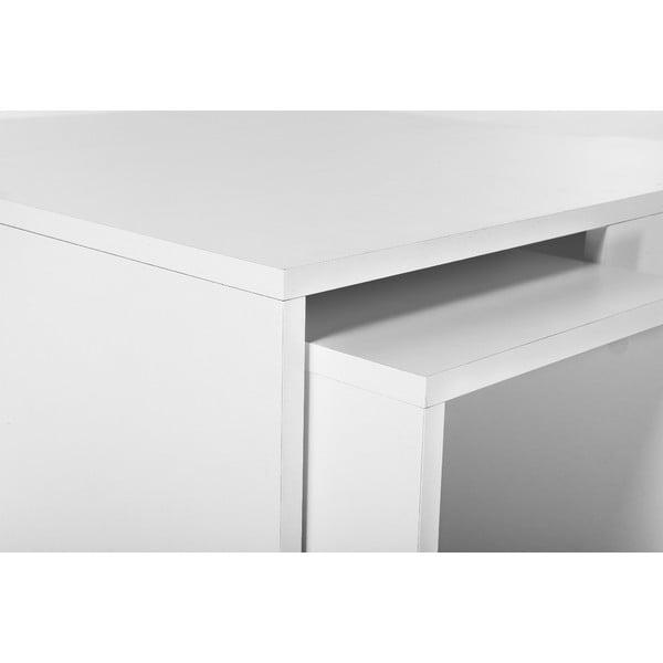 Konferenční stolek se 4 stoličkami Ortanca White