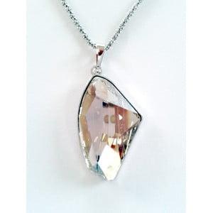 Náhrdelník Bílý krystal