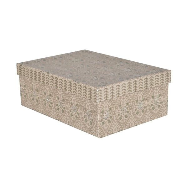 Krabice Pudelka 32x24 cm, šedá