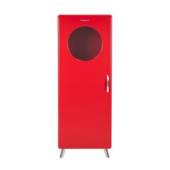 Dulap cu geam din sticlă Tenzo Cobra, înălțime 149 cm, roșu de la Tenzo