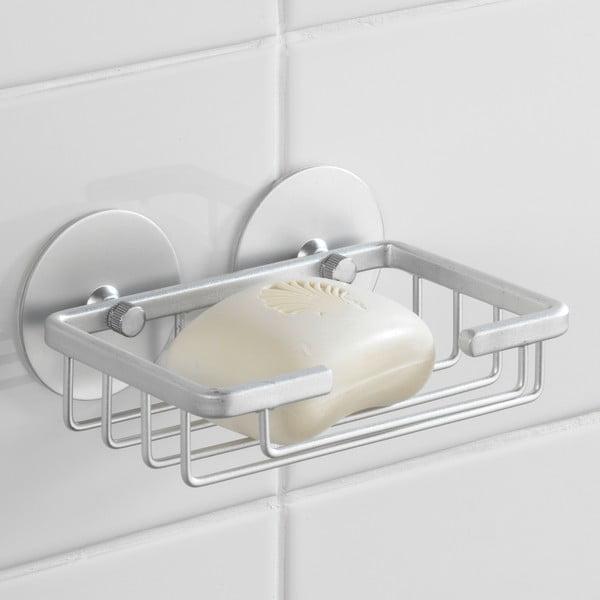 Samodržící držák na mýdlo Wenko Aluminium, až 40 kg
