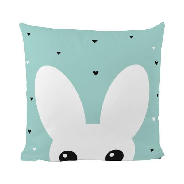 Polštář Mr. Little Fox Curious Bunny, 50x50cm