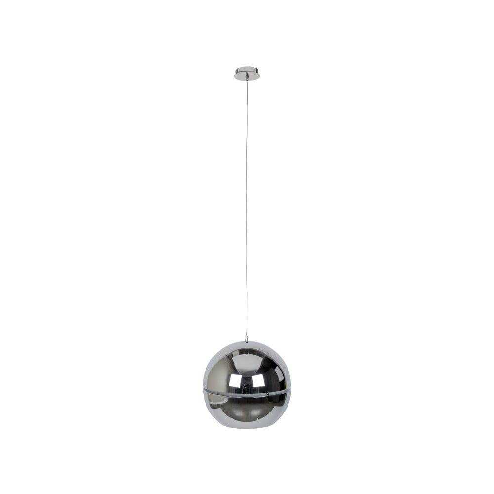 Stropní svítidlo ve stříbrné barvě Zuiver Retro, Ø 40 cm