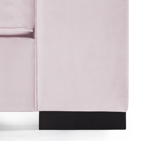 Světle fialová trojmístná pohovka Vivonita Bronson