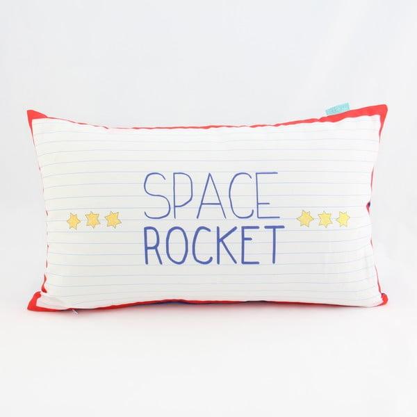 Bavlněný povlak na polštář Mr. Fox Space Rocket, 50x30cm