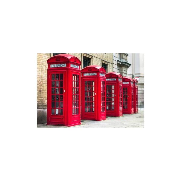Obraz London Telephone, 80x115 cm