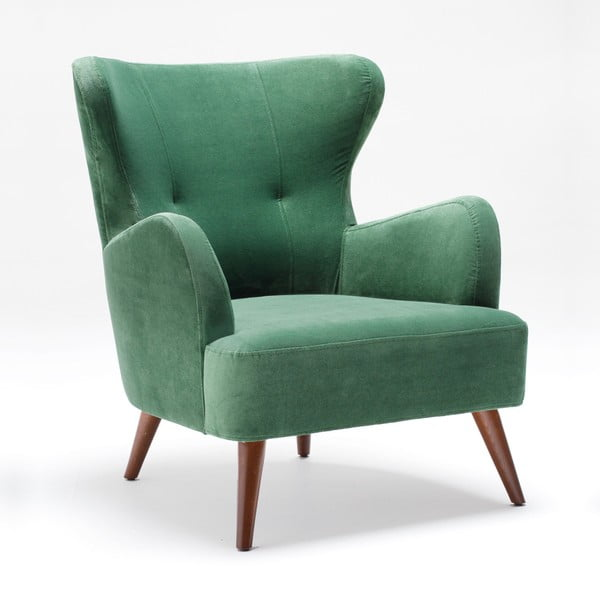 Home Jane zöld füles fotel - Balcab