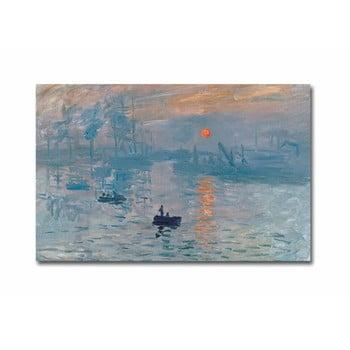 Reproducere tablou pe pânză Claude Monet Sunrise, 70 x 45 cm de la Unknown