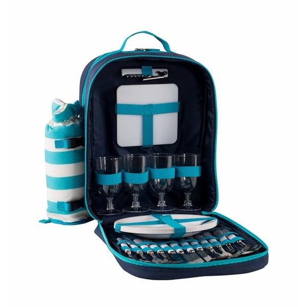 Jasnoniebieski piknikowy plecak termiczny Navigate Aqua