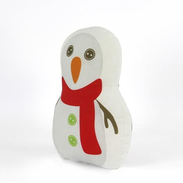 Polštářek Snowman, 40x30 cm