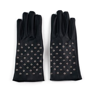 Rukavice Leather Black