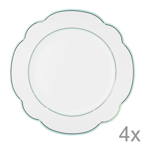 Porcelánový talíř  Continental od Lisbeth Dahl, 29 cm, 2 ks