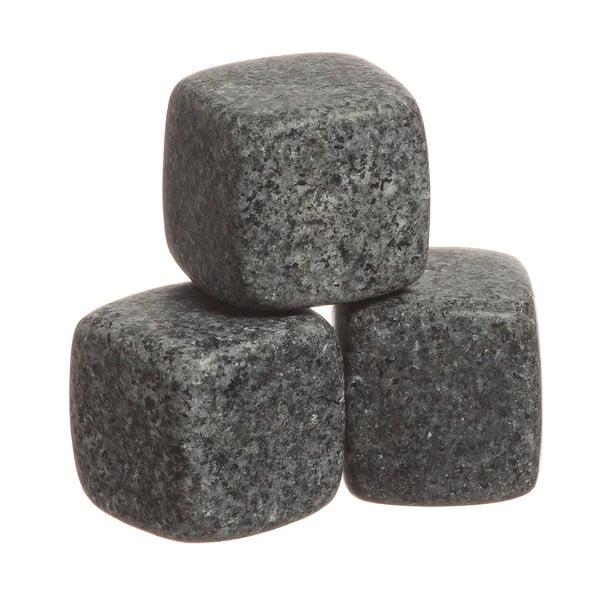 Sada 6 žulových chladících kostek Original Products