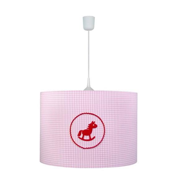 Závěsné světlo Pink Horse