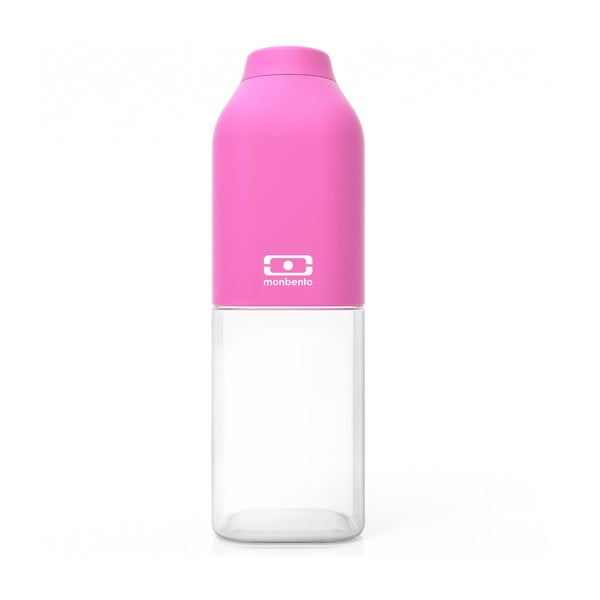 Růžová lahev Monbento Positive, 500 ml