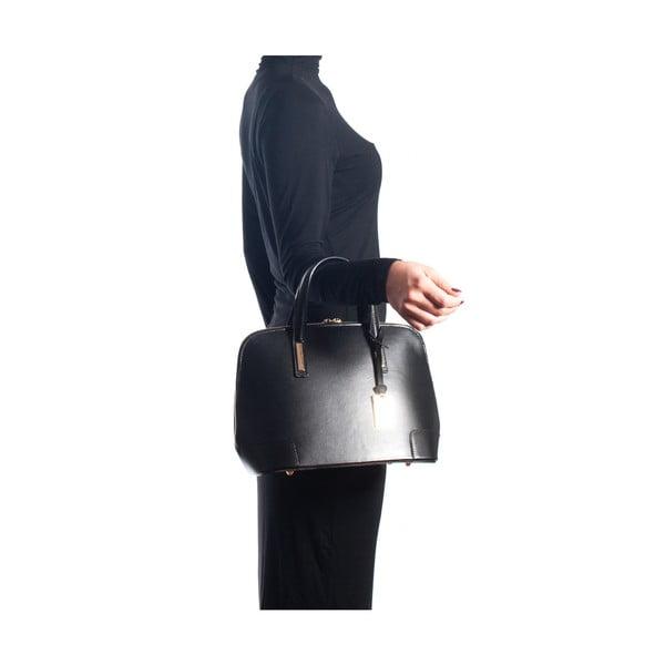 Kožená kabelka Sofia Cardoni 3015 Nero
