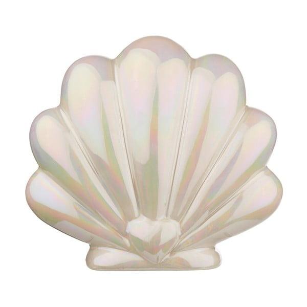 Kasička z porcelánu ve tvaru mušle Sass & Belle