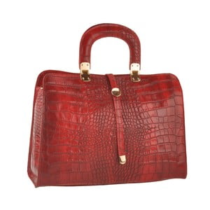 Červená kožená kabelka Ore Diece Alzavola