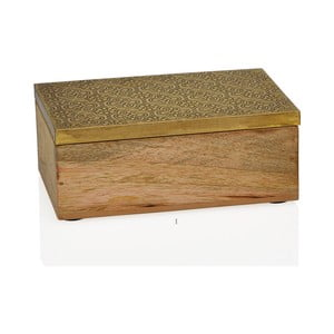 Dekorativní box Gold, malý