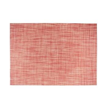 Suport pentru farfurie Tiseco Home Studio Melange Simple, 30x45cm, roșu de la Tiseco Home Studio